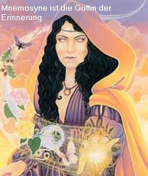 Mnemosyne: Göttin der Erinnerung / Titanin vom Gedächtnis Mnemos10