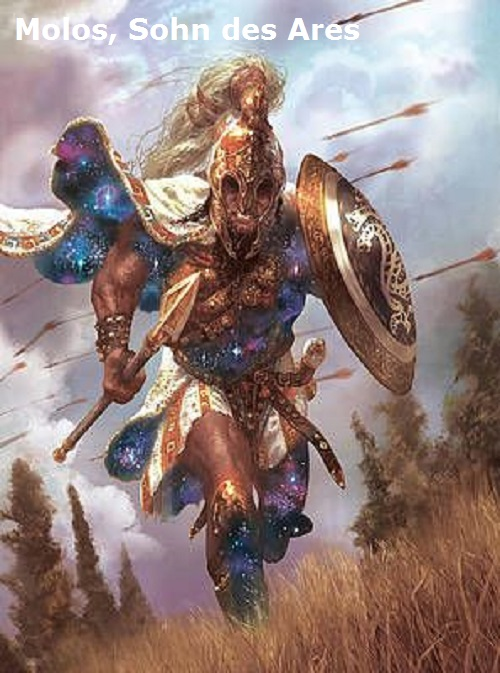 Molos (Mythologie): Sohn des Ares und der Demonike Molos10