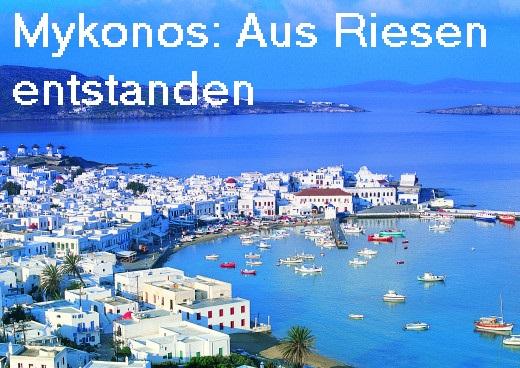 Griechische Insel Mykonos: Nur Party für Touristen oder auch mythologisch interessant? Mykono10