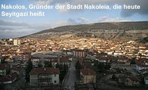 Nakolos (Mythologie): Gründer der Stadt Nakoleia Nakolo10
