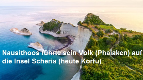 Nausithoos (Mythologie): Erster König der Phaiaken Nausit10