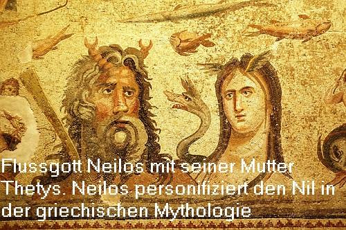 Neilos ist der Flussgott vom Nil und Sohn des Okeanos und der Thetys Neilos10