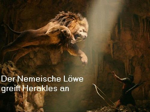 Nemeischer Löwe: Unverwundbares Ungeheuer, Herakles musste dieser Bestie das Fell abziehen Nemeis10