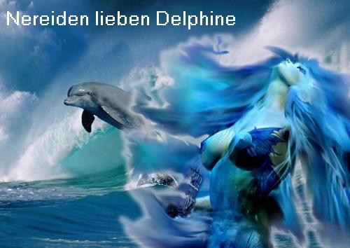 Nereiden (Mythologie): Eine Nereide ist eine Nymphe vom Meer, die Schiffbrüchige / Seeleute beschützt Nereid10