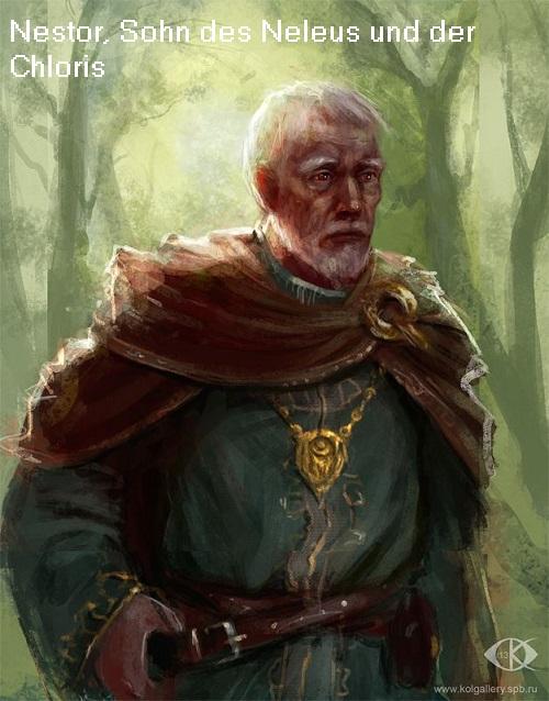 Nestor (Mythologie): Sagenhafter König von Pylos Nestor10
