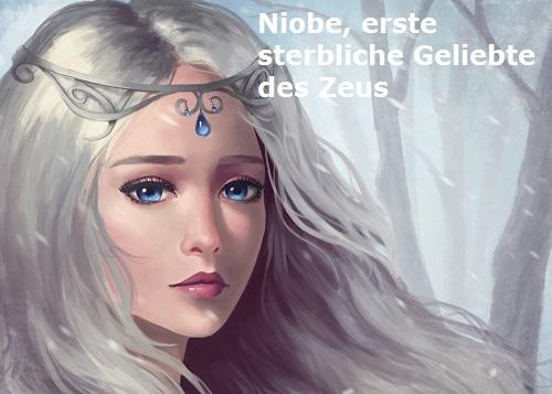 Niobe, erste sterbliche (menschliche) Geliebte des Zeus (Mythologie) Niobe-10