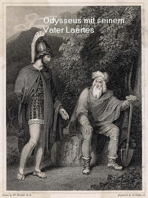 Laertes (Mythologie): Vater vom Heros Odysseus Odysse10