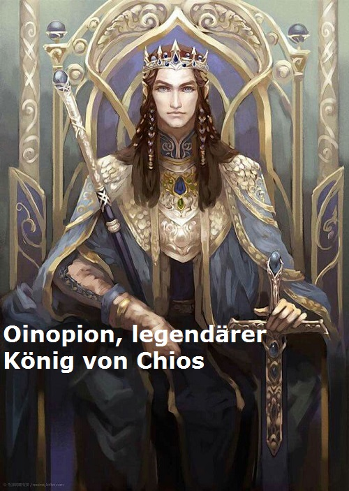 Oinopion (Mythologie): Legendärer König von Chios Oinopi10