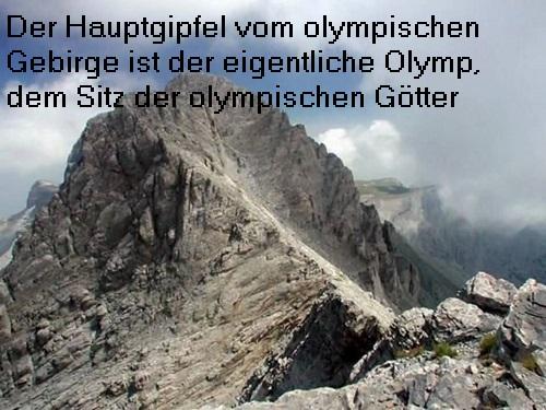 Das olympische Gebirge an der Ostküste von Griechenland / Olymp: Sitz der olympischen Götter Olymp10