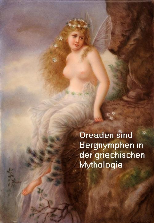 Oreaden (Mythologie): Eine Oreade ist eine Bergnymphe Oreade10