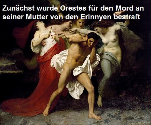 Orestes (Mythologie): Sohn des Agamemnon und der Klytaimnestra Oreste10