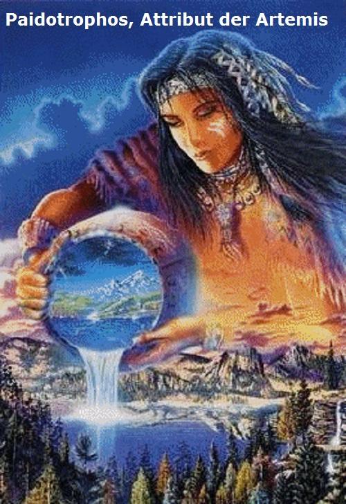 Paidotrophos (Mythologie): Attribut der Artemis Paidot10