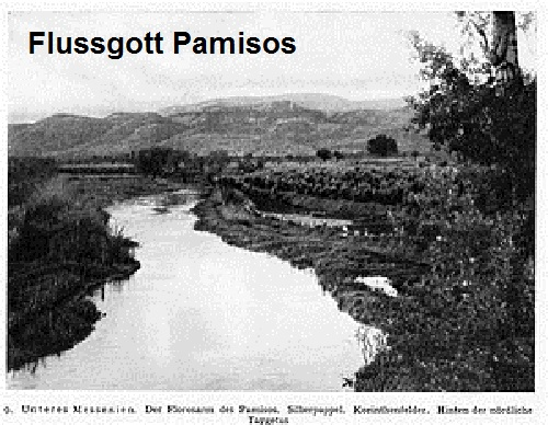 Flussgott Pamisos (Mythologie): Fluss in Messenien Pamiso10