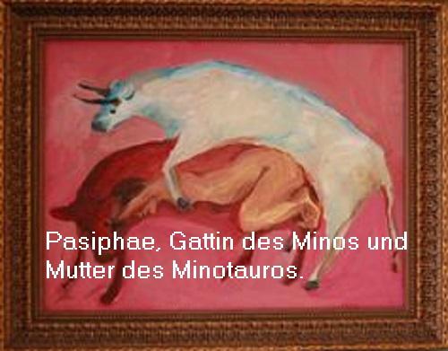 Pasiphae (Mythologie): Gattin des Minos Pasiph10
