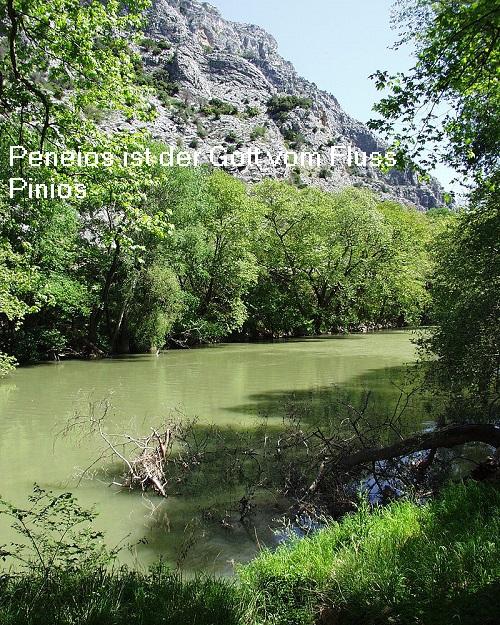 Peneios (Mythologie): Flussgott vom Pinios Peneio10