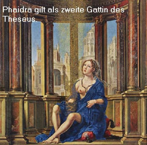 Phaidra (Mythologie): Tochter des Minos und 2. Gattin des Theseus Phaidr10