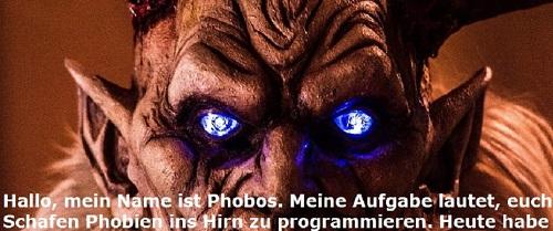 Phobos (Mythologie): Dämon der Furcht Phobos11