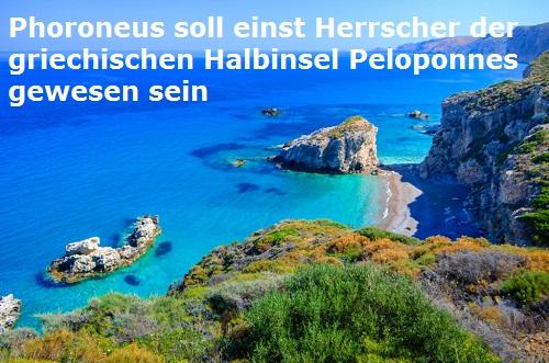 Peloponnes (Mythologie, Beispiel Phoroneus): Griechische Halbinsel Phonor10
