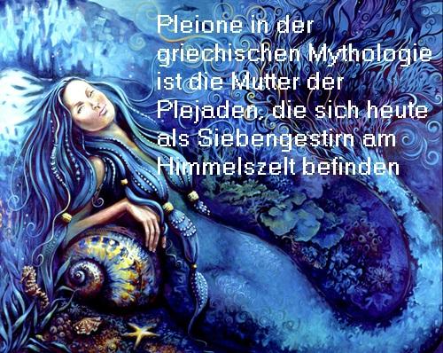 Pleione (Mythologie): Mutter der sieben Plejaden Pleion10