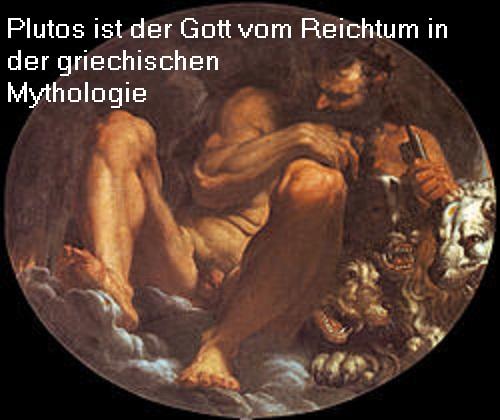 Plutos: Gott vom Reichtum in der griechischen Mythologie Plutos10