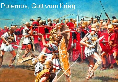 Polemos (Mythologie): Gott vom Krieg Polemo10