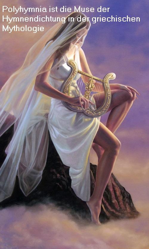 Polyhymnia (Mythologie): Muse (Schutzgöttin) der Hymnendichtung Polyhy10