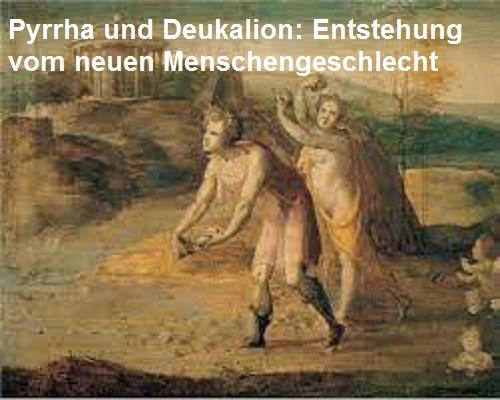 Pyrrha (Mythologie): Überlebte mit Deukalion die Sintflut Pyrrha10