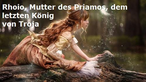 Rhoio: Tochter des Skamandros und Mutter des Priamos (Mythologie) Rhoio11