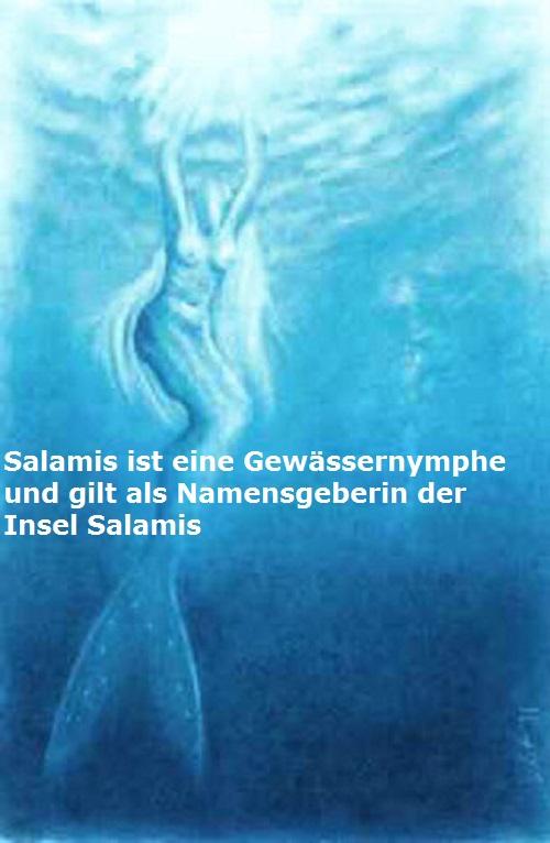 Eponyme Heroine Salamis (Mythologie): Namensgeberin der Insel Salamis Salami10