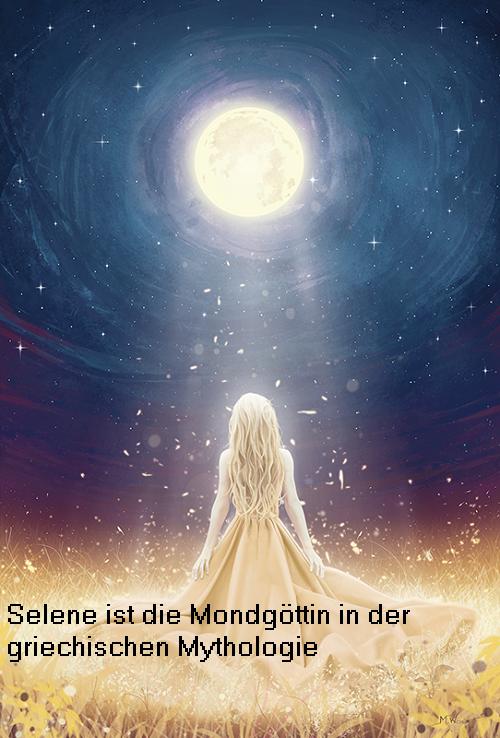 Selene: Mondgöttin und Göttin vom Monat Selene10