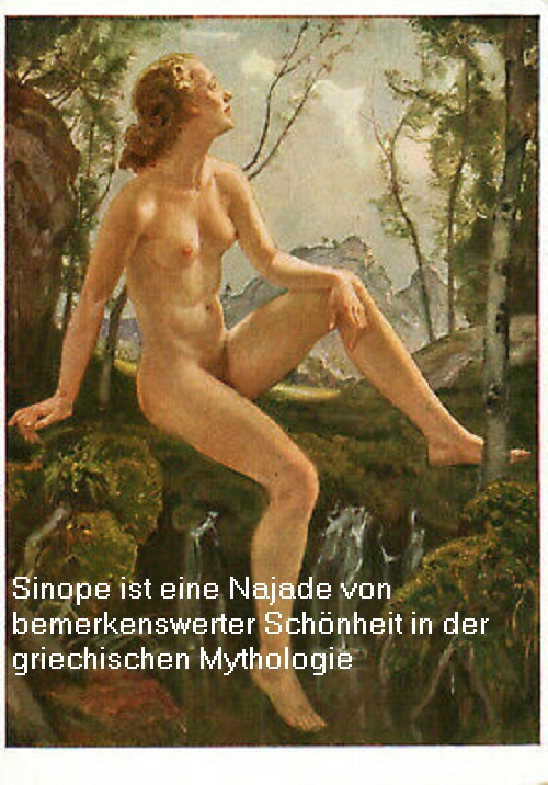 Sinope: Besonders schöne Najade, auf die Zeus ein Auge geworfen hatte Sinope10