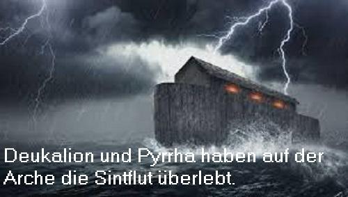 Sintflut (Mythologie): Große Flut des Zeus, auch deukalionische Flut Sintfl10