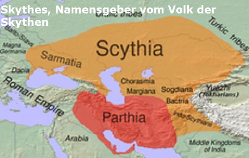 Skythes (Mythologie): Namensgeber vom Volk der Skythen Skythe10