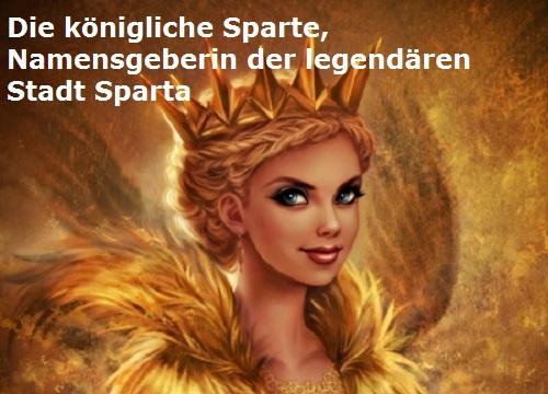 Sparte (Mythologie): Namensgeberin von Sparta in Lakonien Sparte11