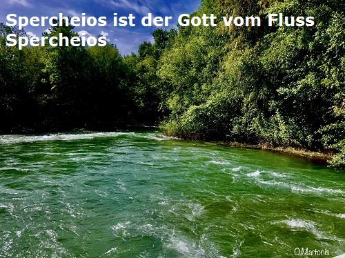 Spercheios (Mythologie): Gott vom Fluss Spercheios in Mittelgriechenland Sperch10