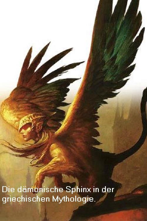 Sphinx: Dämon mit Spaß daran, Unheil und Zerstörung anzurichten Sphinx10