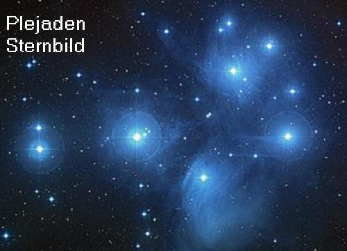 Plejaden (Mythologie): Eine Plejade ist eine Nymphe. Heute befinden sich die Plejaden als Siebengestirn am Himmelszelt Sternb11