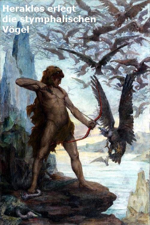 Stymphalische Vögel (Mythologie): Vogel Bestien mit  Stymph10