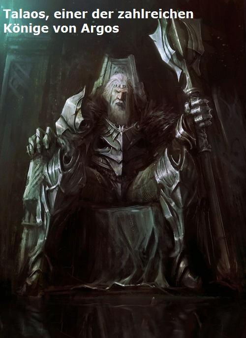 Talaos (Mythologie): Einer der zahlreichen Könige von Argos Talaos10