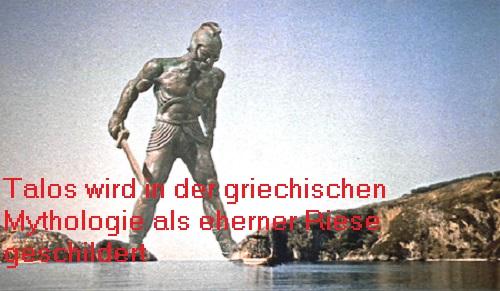 Talos (Mythologie): Eherner / bronzener Riese Talos10