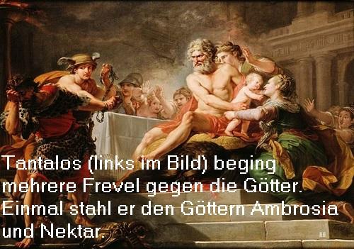 Nektar (Mythologie): Speise der Götter Tantal11