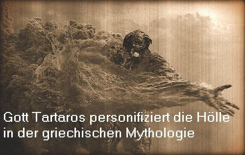 Tartaros / Tartarus: Gott der ersten Stunde, personifiziert den Strafort Hölle Tartar10