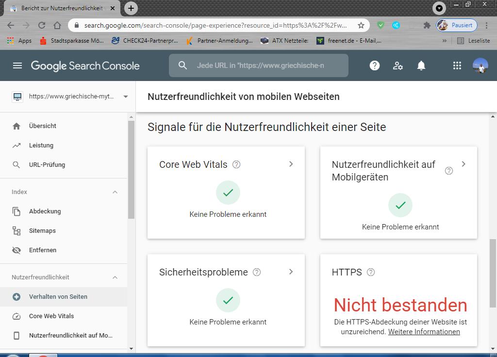 Google Search Console Meldung: Die HTTPS-Abdeckung deiner Website ist unzureichend Teil_210