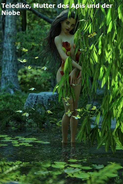 Nymphe Teledike (Mythologie): Mutter der Niobe und des Apis Teledi10