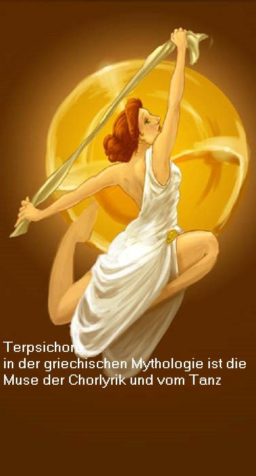 Terpsichore (Mythologie): Muse vom Tanz und der Chorlyrik Terpsi10