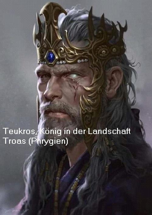 Teukros (Mythologie): König in der Landschaft Troas (Phrygien) Teukro10