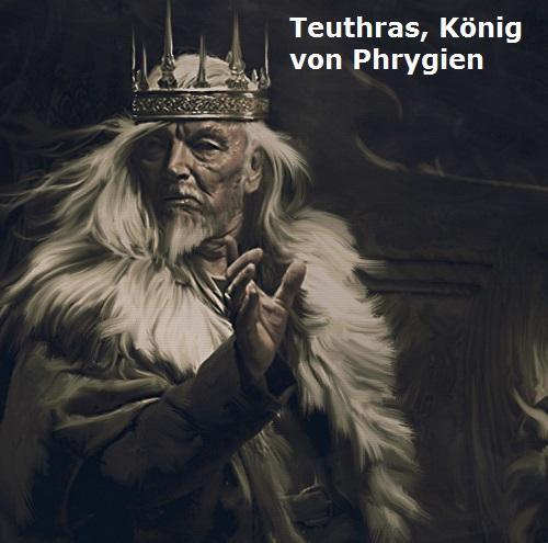 Teuthras (Teleutas, Mythologie): König von Phrygien Teuthr10