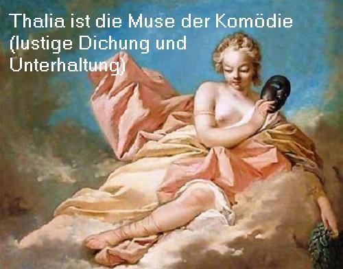 Muse Thalia (Mythologie): Fröhliche Dichtung, Unterhaltung und Komödie Thalia11