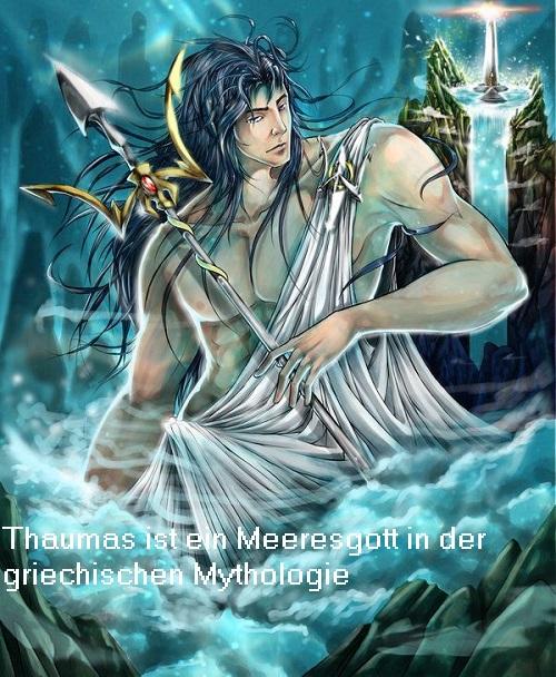 Thaumas: Meeresgott und Vater der Harpyien, die heute von Zeus befehligt werden Thauma10