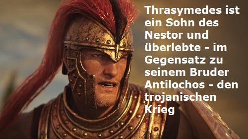 Thrasymedes (Mythologie): Sohn des Nestor, überlebte den trojanischen Krieg Thrasy10